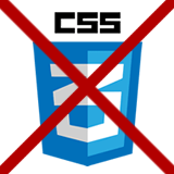Má web fungovat bez CSS?