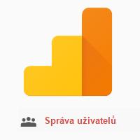 Udělení přístupu do Google Analytics