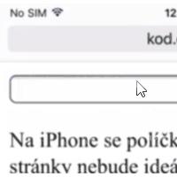 Automatické zoomování inputů na iOS