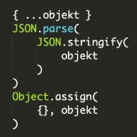 Kopírování objektů v JS