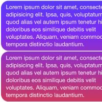 Barva podle odrolování na stránce