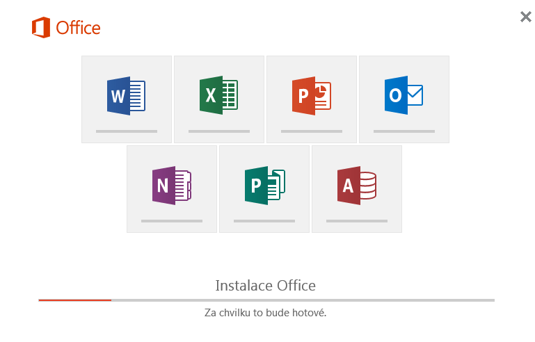 Instalace Office 2016