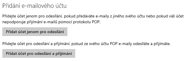 Účty v Outlook.com